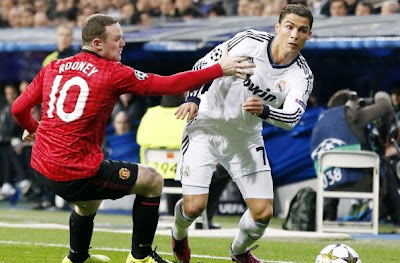 REAL MADRID - MANCHESTER UNITED CHAMPIONS LEAGUE
