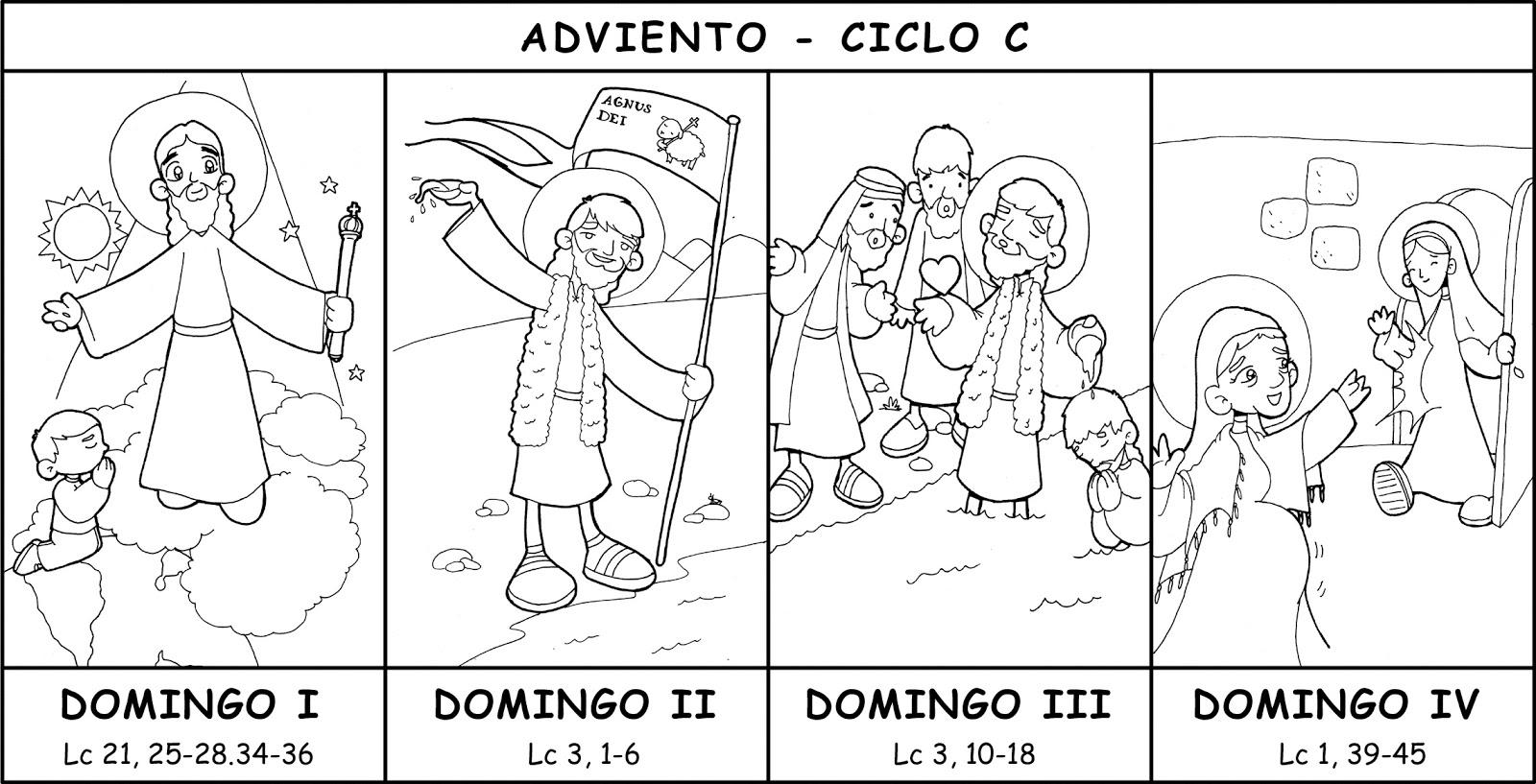 EDUCACIÓN RELIGIOSA: CUATRO DOMINGOS DE ADVIENTO - CICLO C