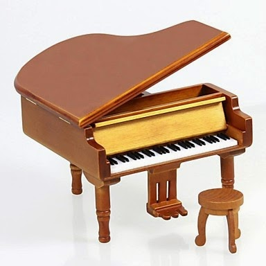 Caja de Música Piano