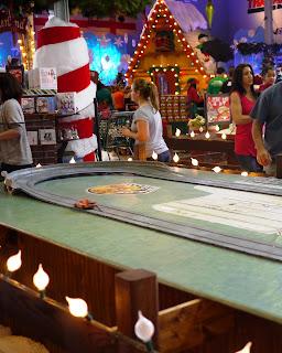 Games at Santa Land at Bass Pro Shops