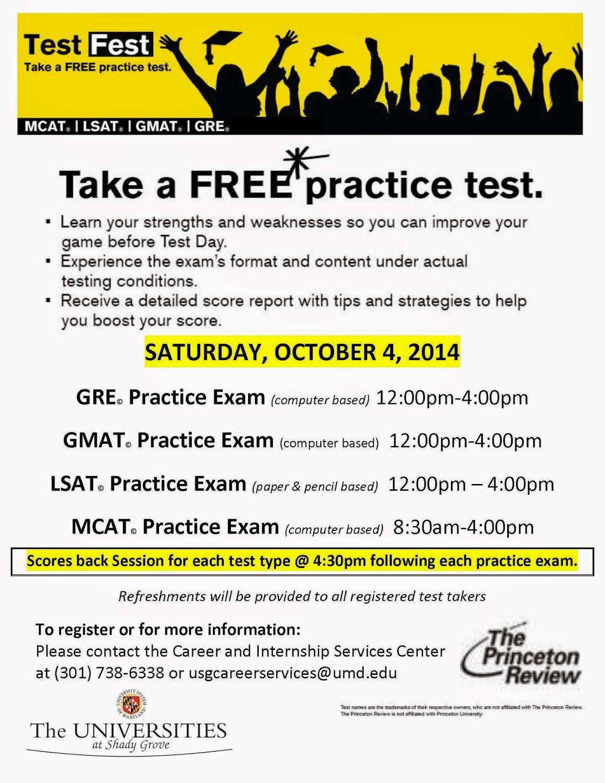 ccjs usg news and updates practice tests mcat gmat lsat students can register and obtain additional information though career internship services center 301 738 6338 or usgcareerservices umd edu