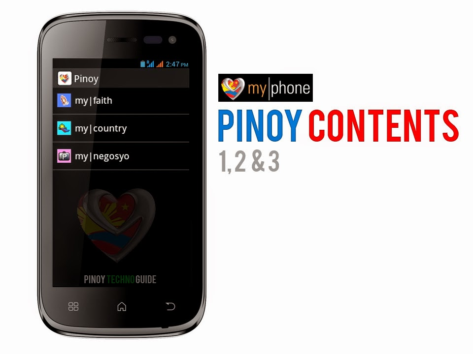 MyPhone Pinoy Contents Download and Setup