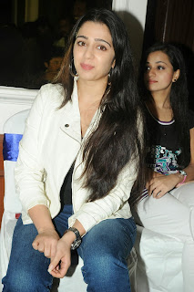 Actress Charmi Kaur Pictures in Jeans at One by Two Movie Celetes 20 Years Event 0155