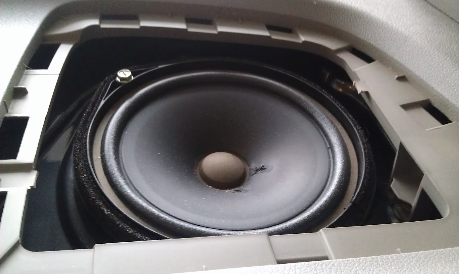 Adam Miller\'s blog: How To Replace Rear Speakers in a Honda Accord