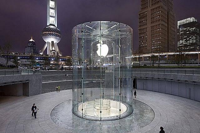 Loja Apple em Pudong: a empresa já tem cinco unidades na China e se prepara para abrir a maior delas em Dalian