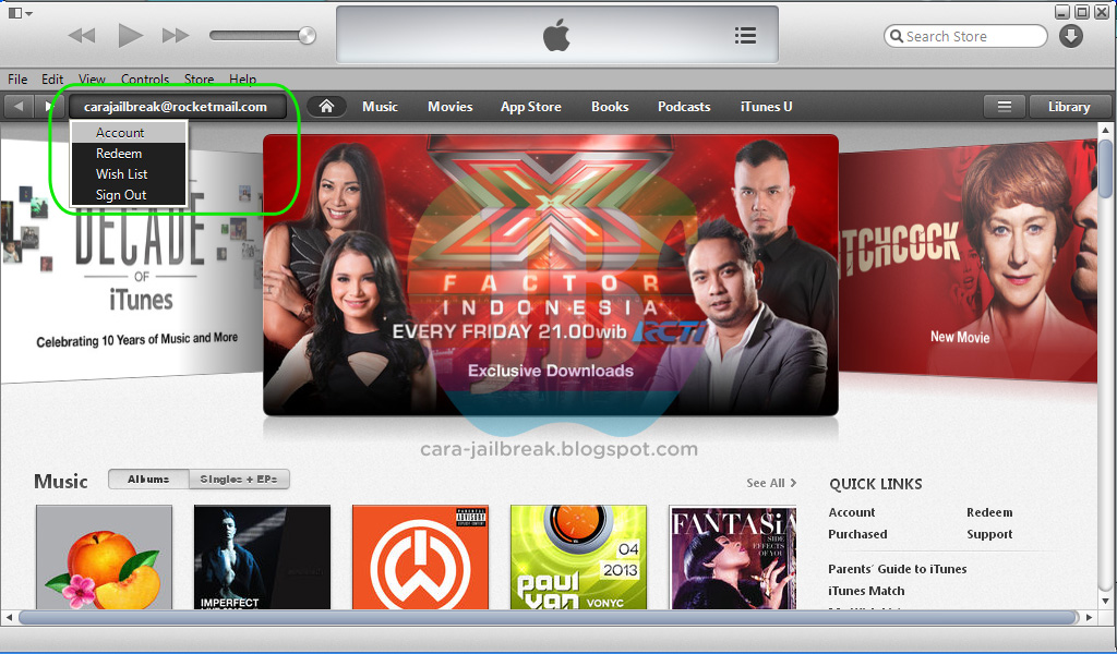how to download free music from itunes store jailbreak
