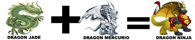 como sacar al dragon ninja en dragon city