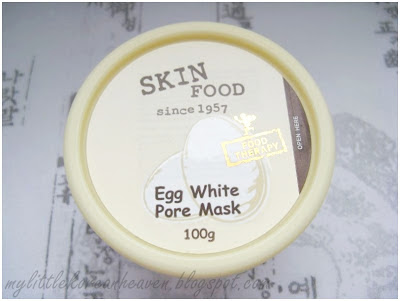 SKINFOOD: Egg White Pore Mask