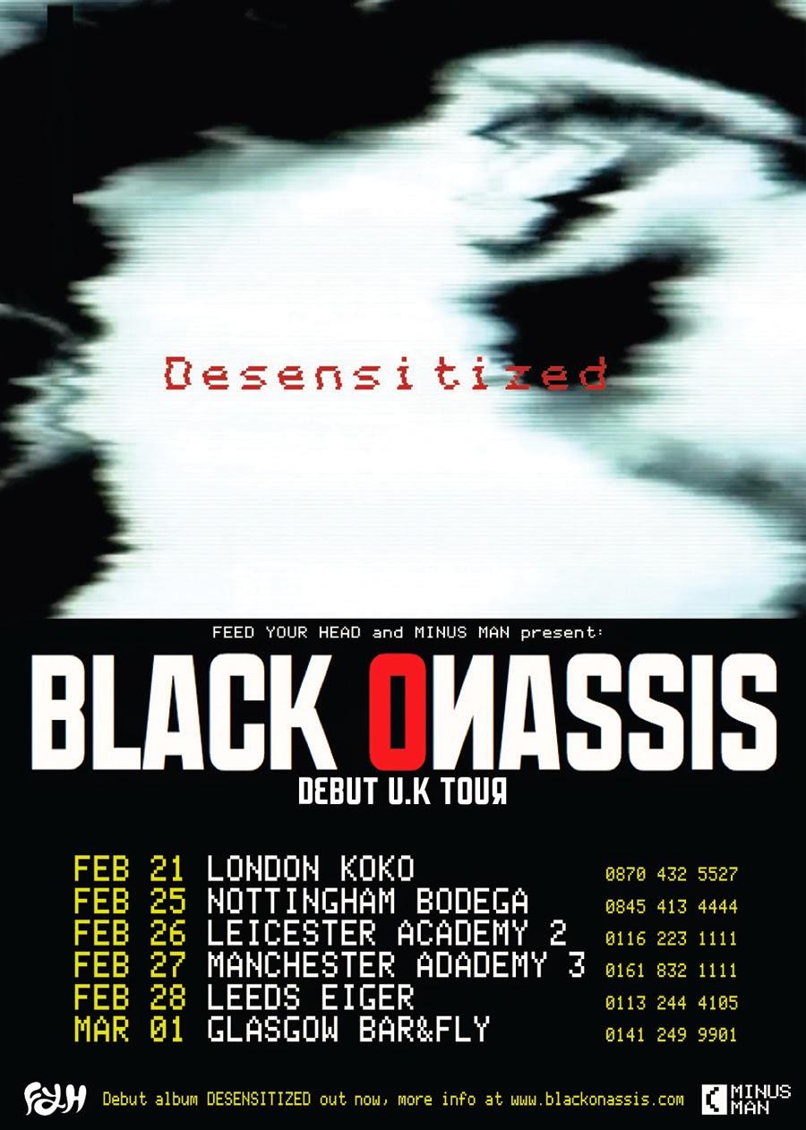 Black Onassis Debut UK Tour
