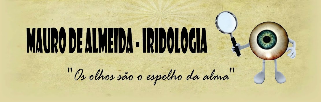 Mauro de Almeida - Iridologia - Iridologie - Iridology.