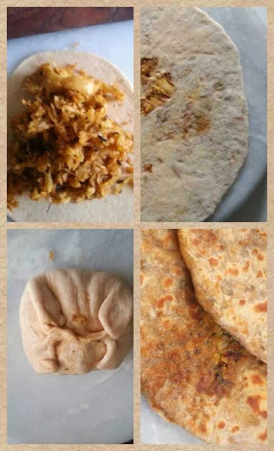 Divine Indian flatbread stuffed with a spiced raddish filling and cooked in desi ghee