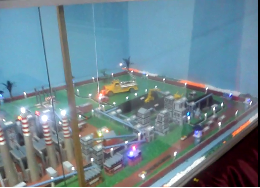 Thermal Power Plant Model, raichur power plant, images, picture, photos