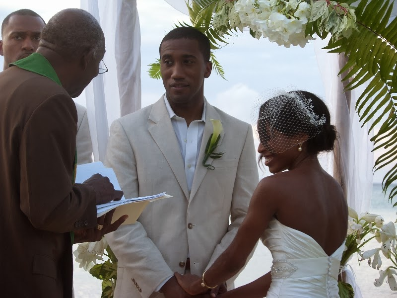 beach wedding pigeon point Tobago