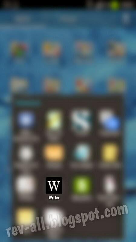 Ikon Writer - aplikasi android notepad simpel dan ringan otomatis menyimpan di memori (rev-all.blogspot.com)