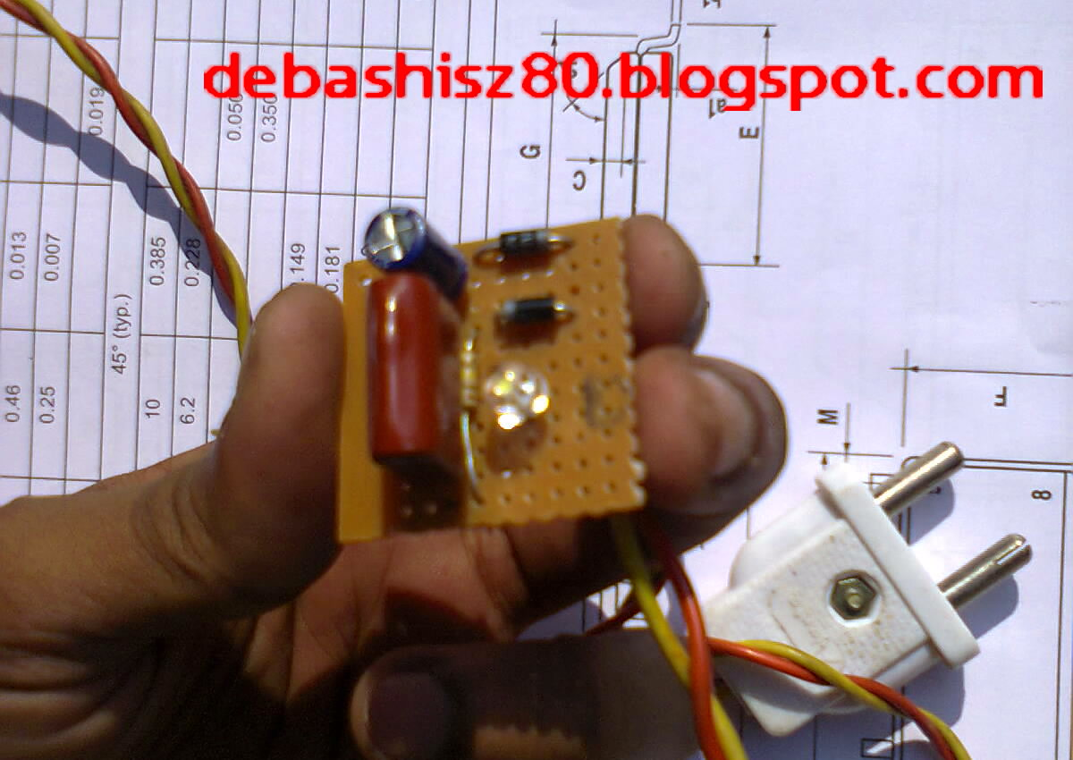 Electronic Project Idea Transformerless Power Supply