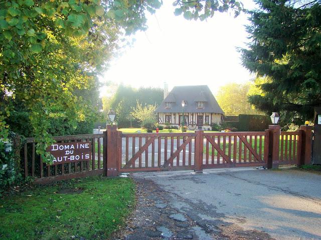 Domaine du Haut Bois à Touques normandie