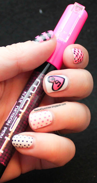 Nails4Dummies - Mash Nail Designs Pens Mani