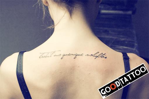 Тату надписи с переводом – фото татуировок с надписью