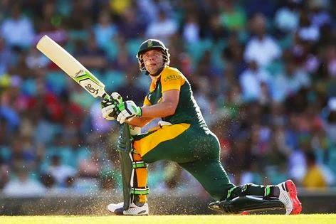 AB de Villiers fastest 150 record