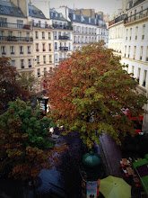 View from our apartment on rue Clauzel, 9eme