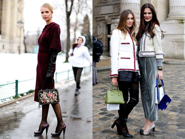 "Tres outfit estilo ""ladylike"""