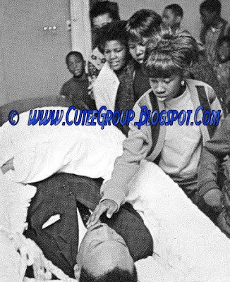 Martin Luther King's cadaver/body