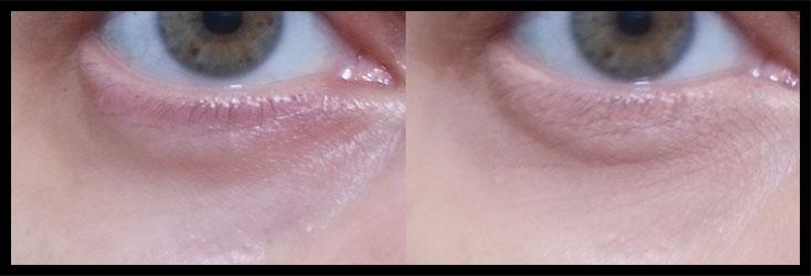 Nabla Cosmetics - Correttore 1.0 prima e dopo