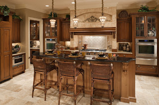 Traditional Kitchen With Islands