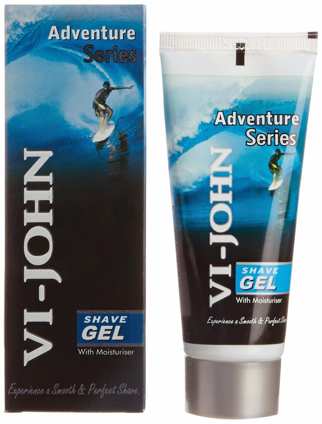 VI-John Adventure Series Shave Gel – 60 g worth Rs 50 for Rs 42