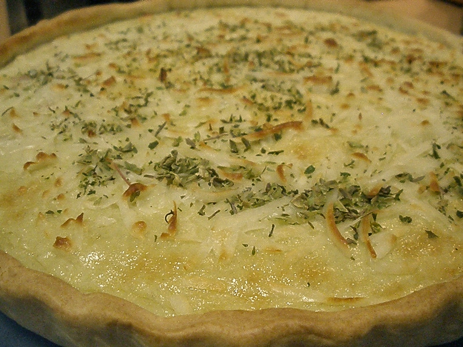 Quiche de Queso Roquefort