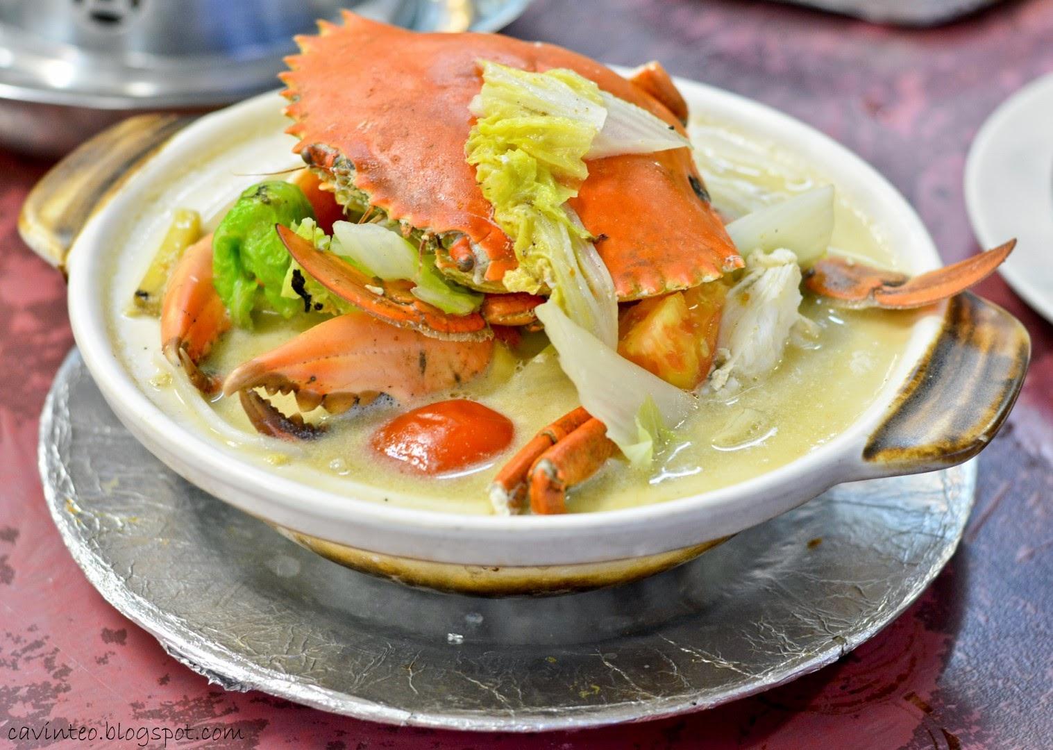 with XO Crab Bee Hoon has Xo Crabs