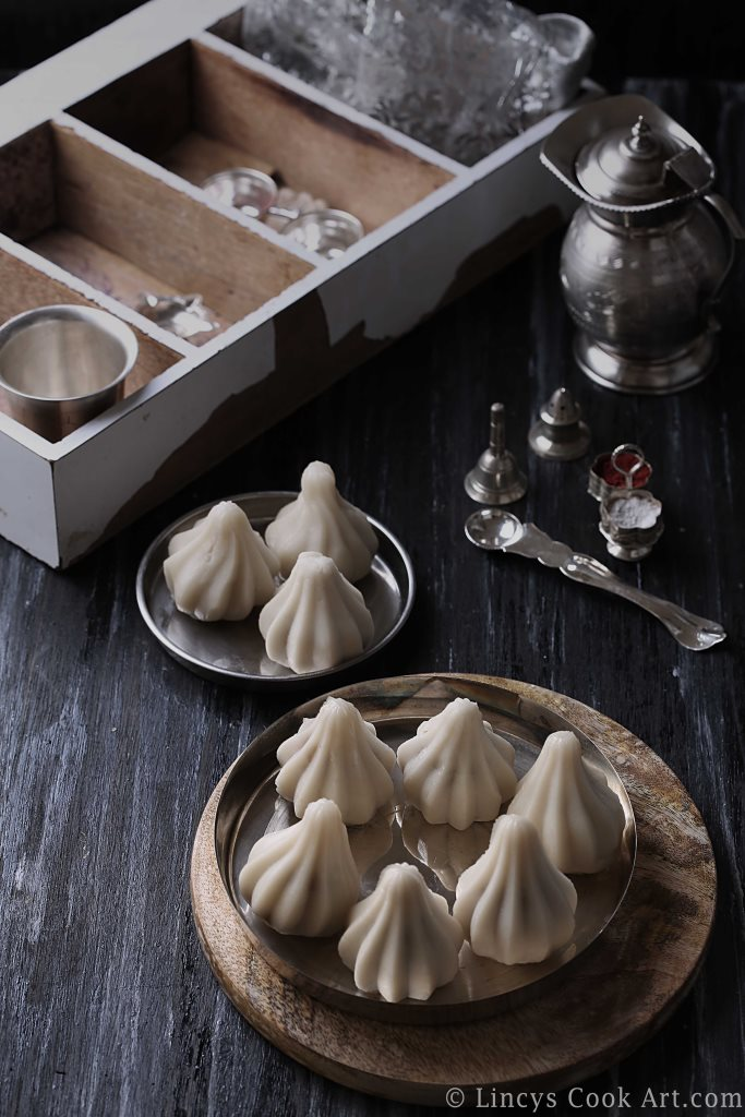Coconut jaggery sweet dumplings