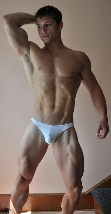 Male Sight of Young Male Underwear Models in Eye Candy