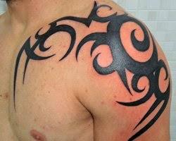 tattoo tribal Braço e ombro