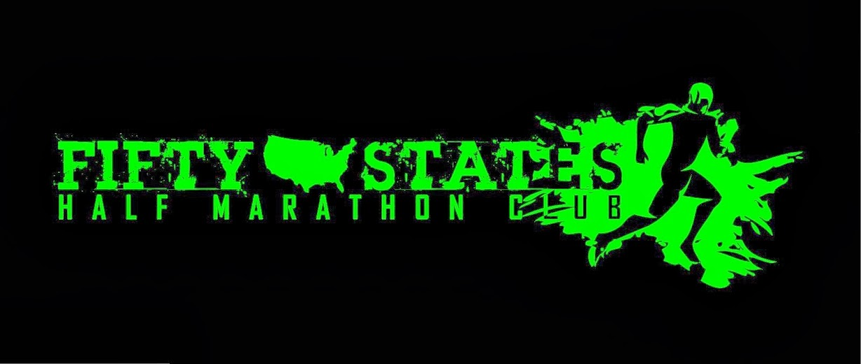 Fifty States HALF Marathon Club's OFFICIAL BLOG