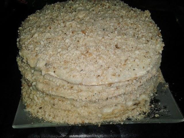 Торт наполеон на сковороде быстро и