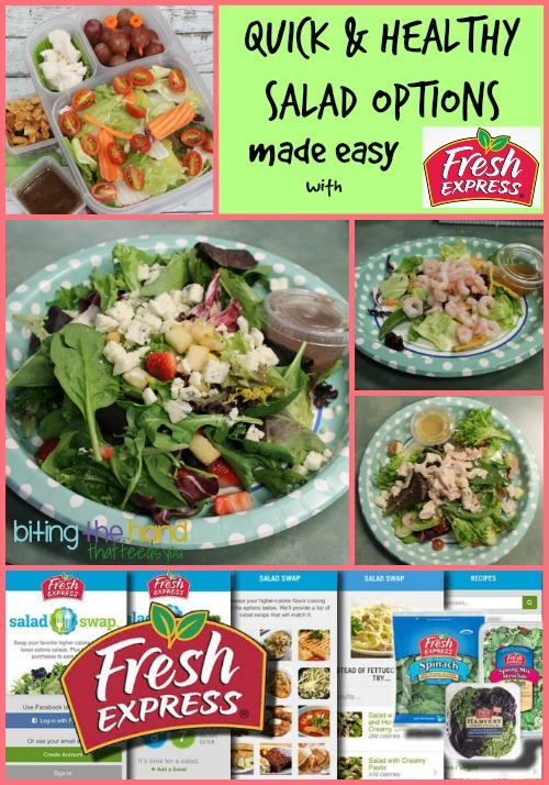 Fresh Express 30-Day Salad Swap #saladswap