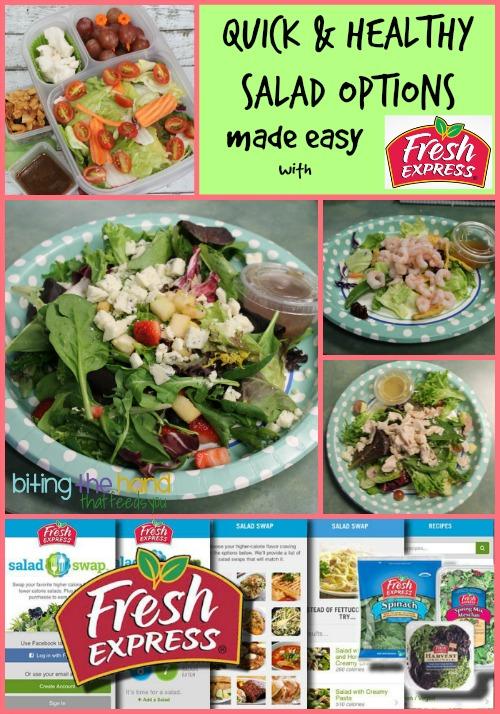 Fresh Express 30-Day Salad Swap #saladswap