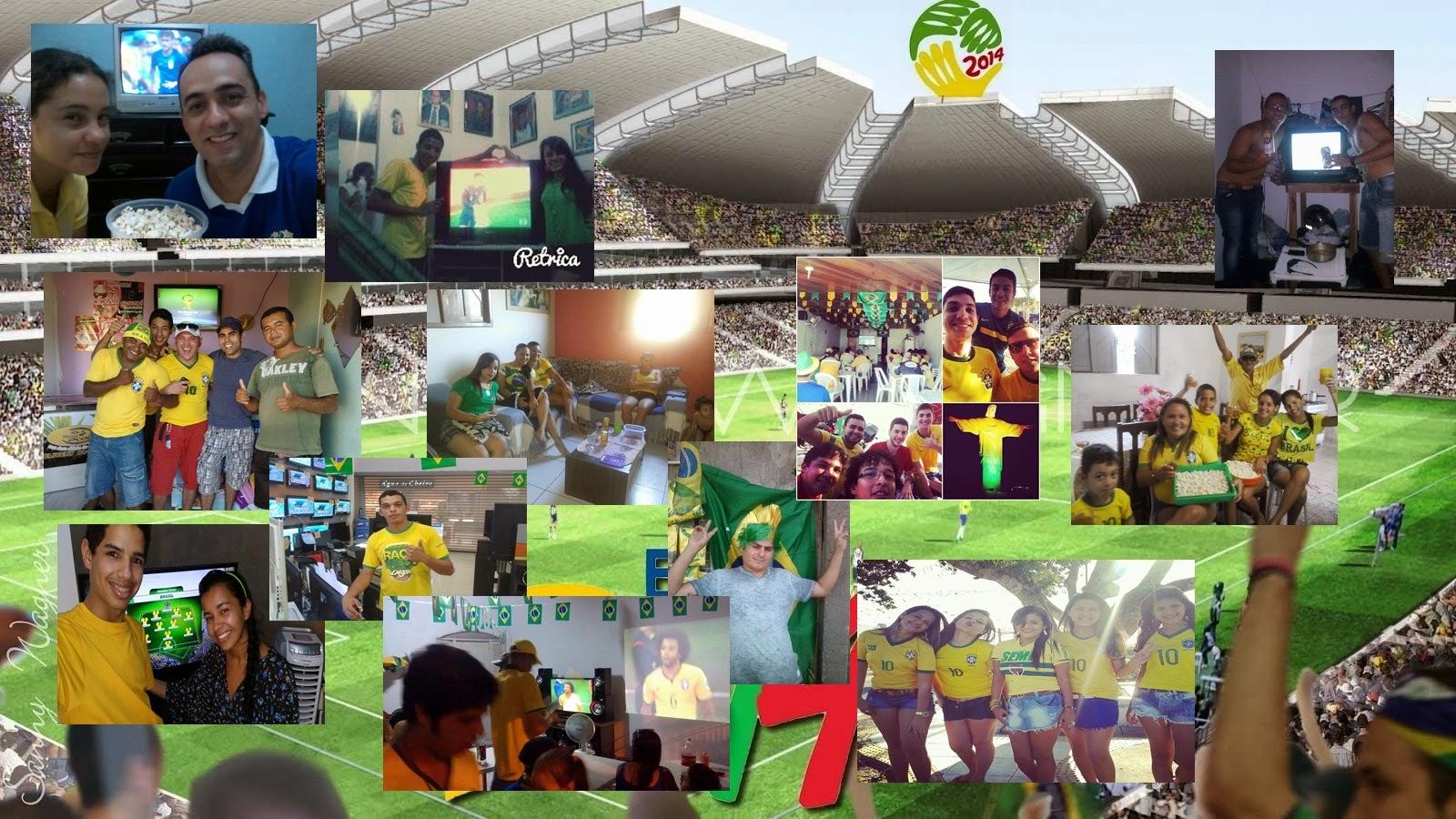 O Brasil joga e você aparece no Córrego