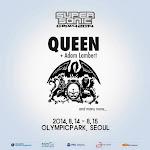 Queen y Adam Lambert Super Sonic 2014 Seúl Corea