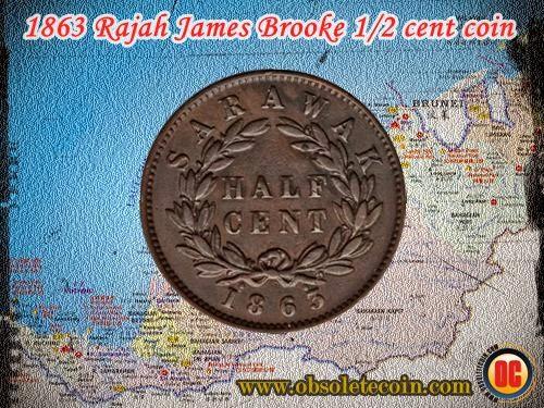 1863 cent