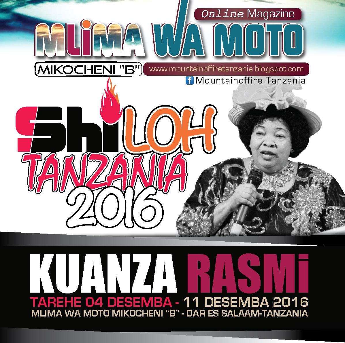 SHILOH TANZANIA 2016