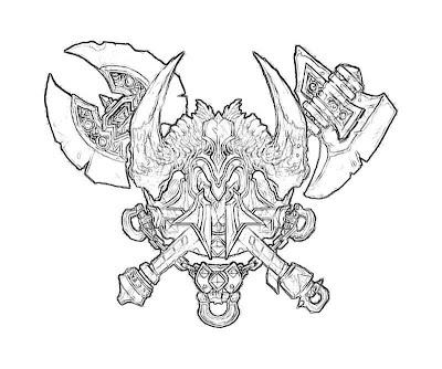 Diablo 3 Barbarian Crest Yumiko Fujiwara