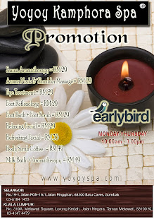 EARLY BIRD PROMOTION 2014