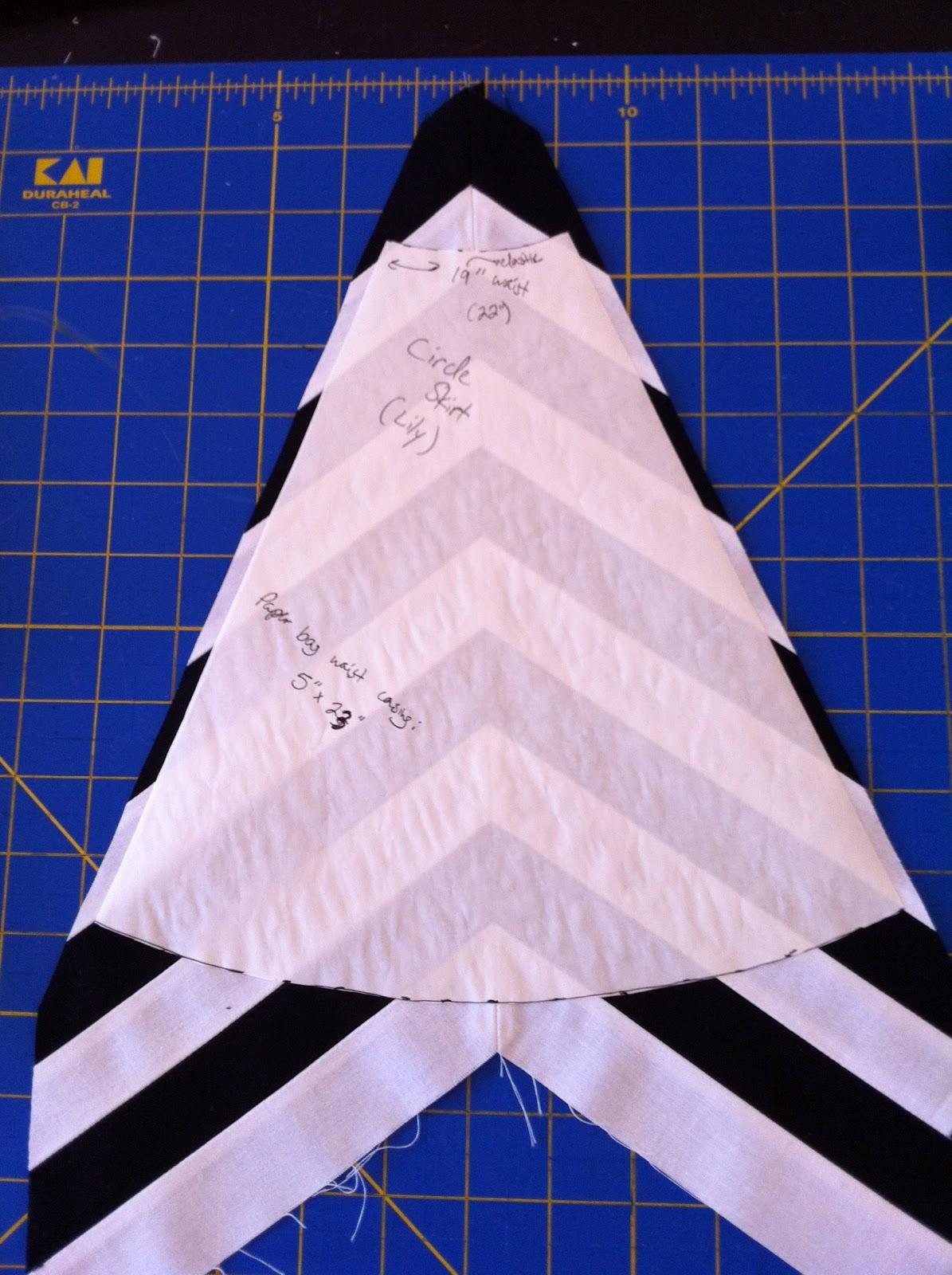 Как сшить полосатую юбку своими руками - Ручная работа 90