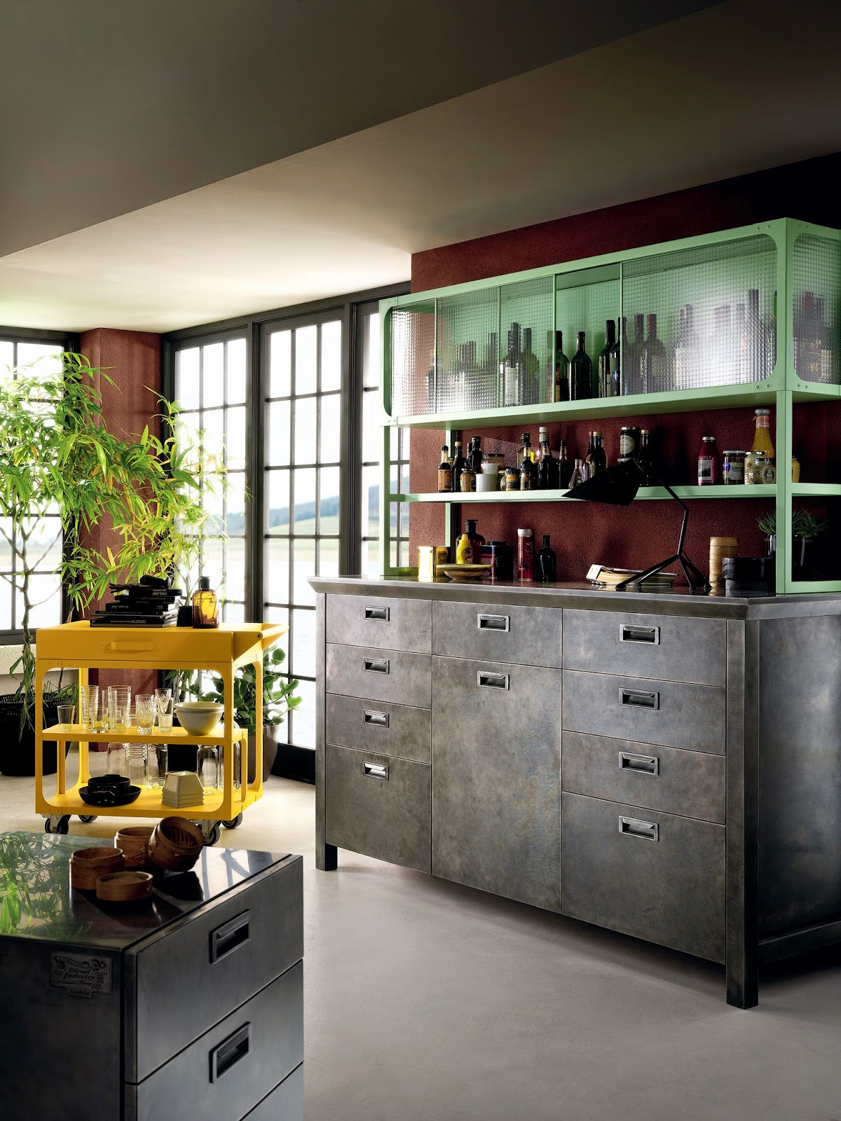 DIESEL SOCIAL KITCHEN AT SALONE DEL MOBILE 2015 - Simplicity is Chic