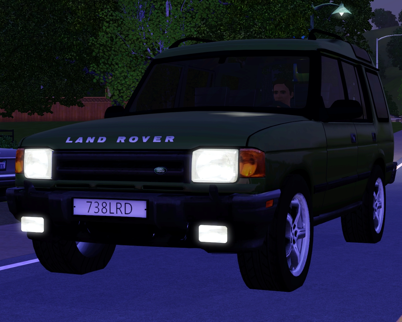 my sims 3 blog 1997 land rover discovery by fresh prince. Black Bedroom Furniture Sets. Home Design Ideas