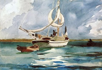 Bahamas Sloop by Winslow Homer
