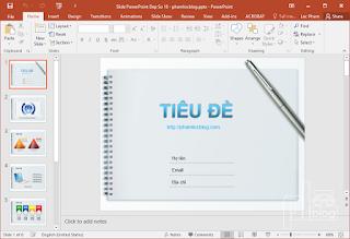 mẫu Slide PowerPoint đẹp 3