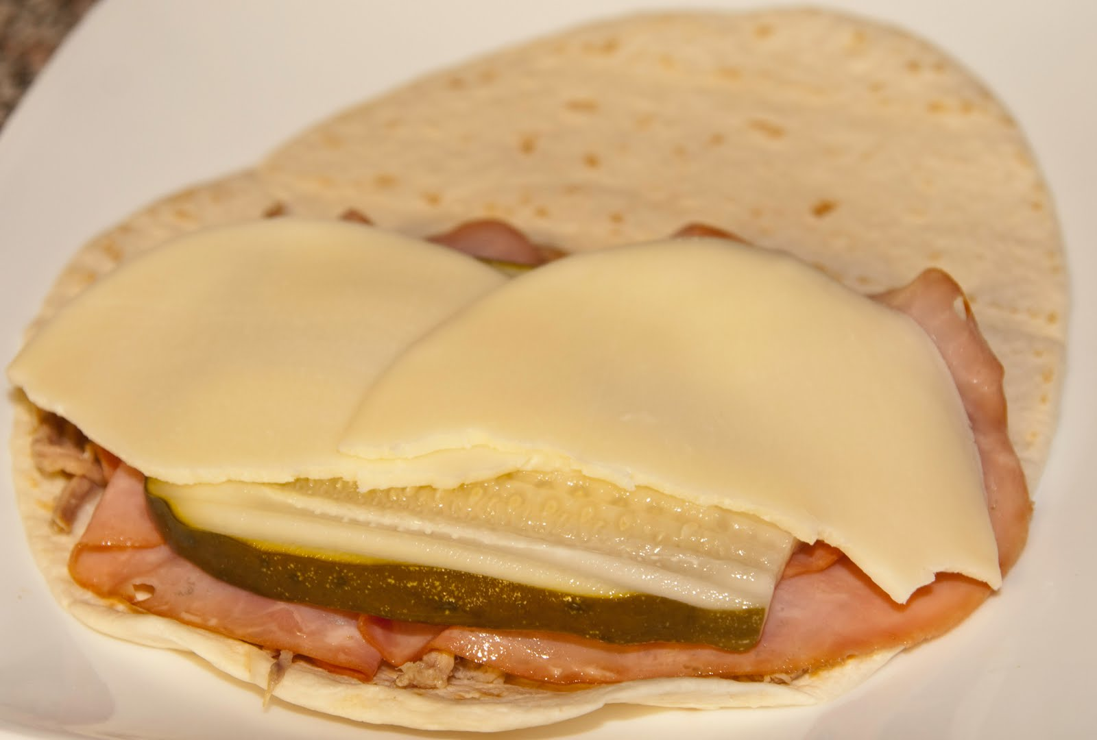 Blog About Food: Cuban Sandwich Quesadillas